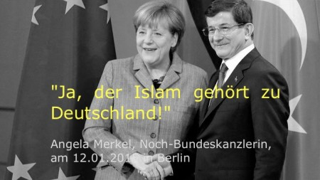 Merkel Islam gehoert zu D