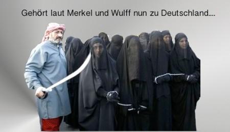 Gehört dieser Islam tatsächlich zu Deutschland, Frau Merkel?