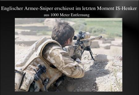 Sniper erschiess IS-Henker