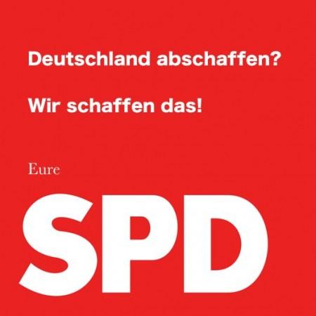 SPD Deutschland abschaffen