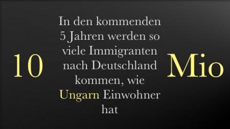 10 Mio Immigranten bis 2020