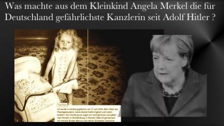 Angela Merkel - gefaehrliche Politikerin