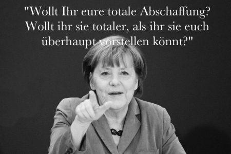 Merkel Abschaffung Ds