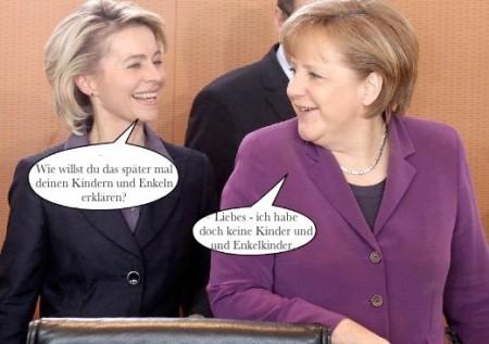 Merkel+Kindeskinder