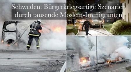 Schweden Randale