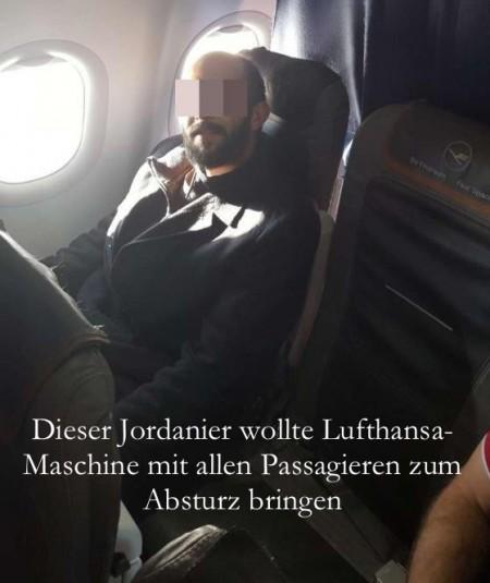 LH-Maschine Absturz