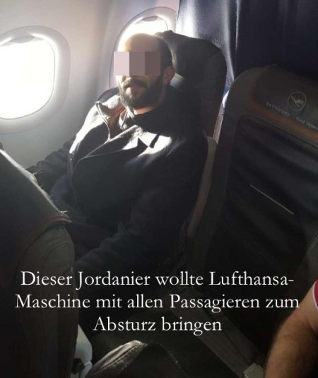 LH-Maschine Absturz