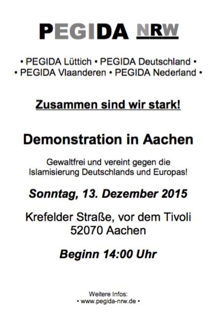 PEGIDA-Aachen