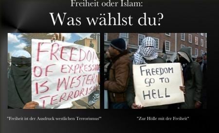 Islam oder Freiheit