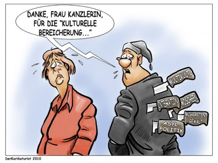 Karikatur_2010_Dolchstoss-durch-kulturelle-Bereicherung