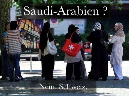 Schweiz Islam