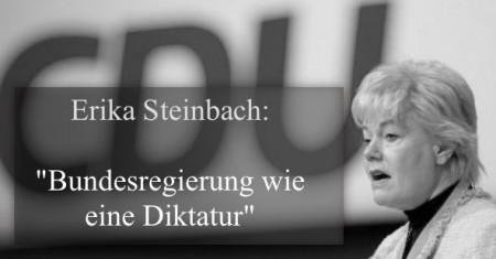 Steinbach BRD-Diktatur