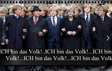Merkel Ich bin das Volk