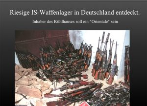 IS-Waffenlager in D entdeckt