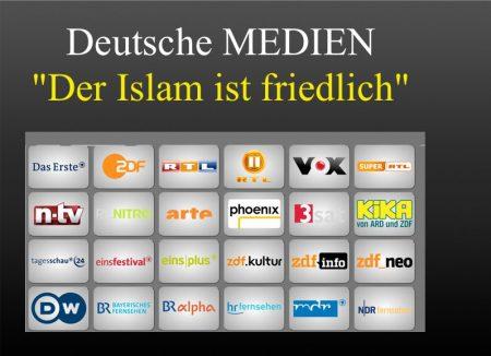 Medien Islam friedlich