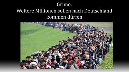 Gruene weitere Millionen