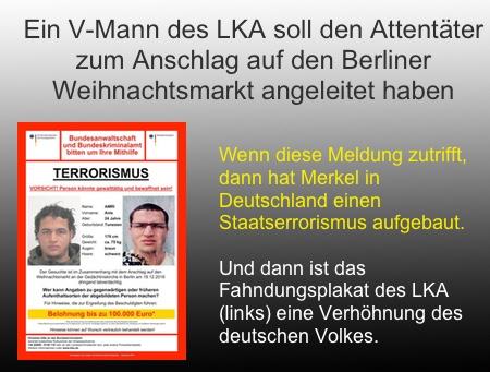 Enthüllungsbericht im Fall Amri: V-Mann des LKA (NRW) leitete Attentäter an