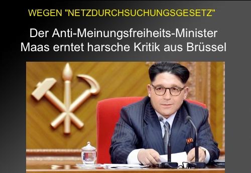 Bundesregierung verärgert über NetzDG-Kritik aus Brüssel