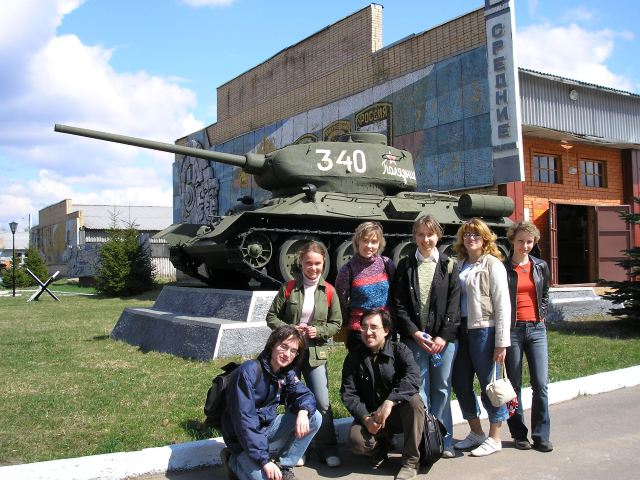 Кубинка, музей бронетехники, май 2006 года