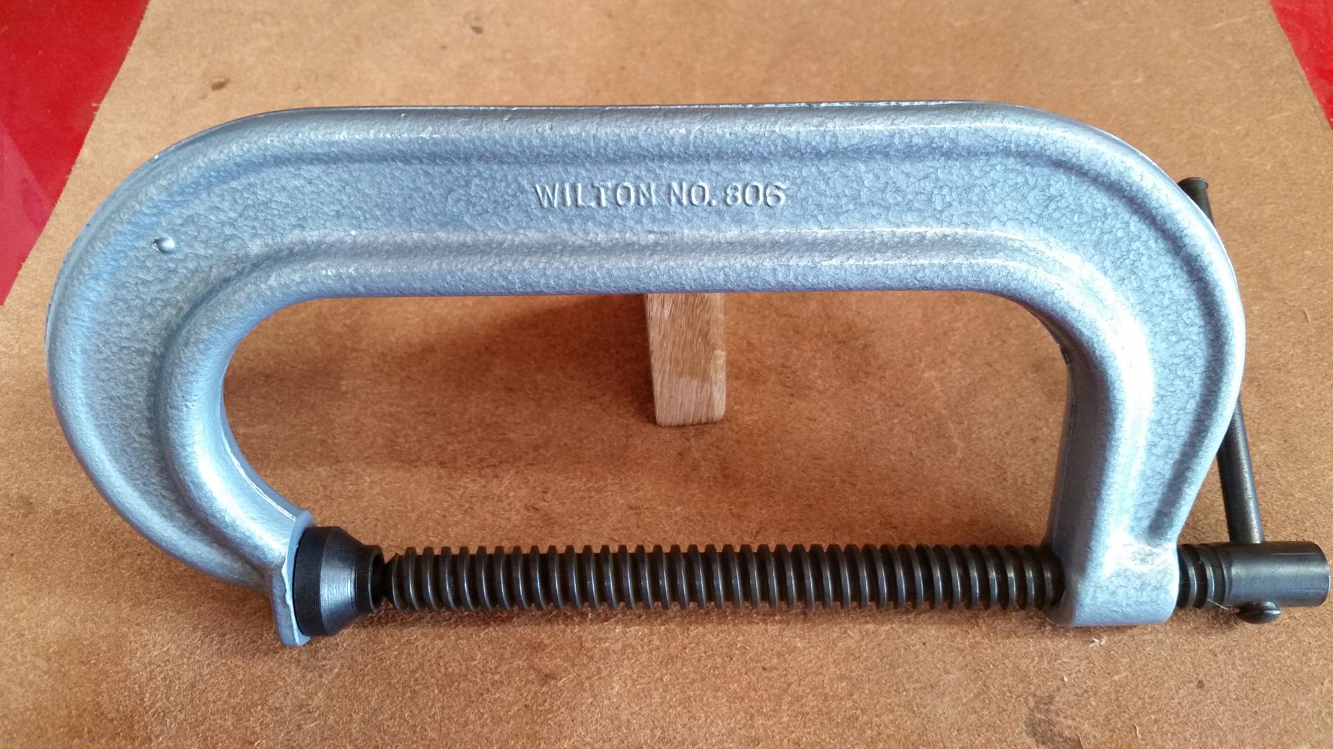 wilton 806 c-clamp restoration – michael parrish blog