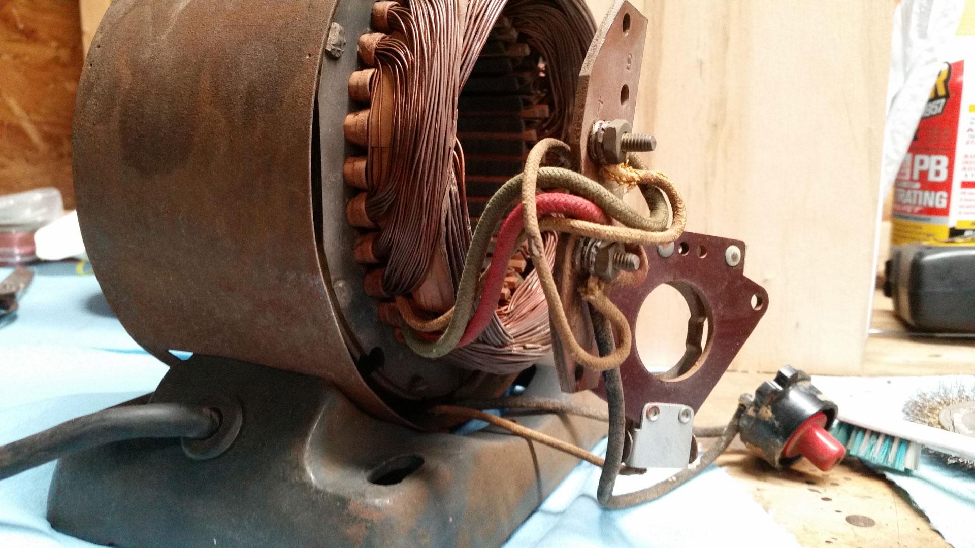 Craftsman 115.6962 Motor Restoration [part 2] – Michael ... on