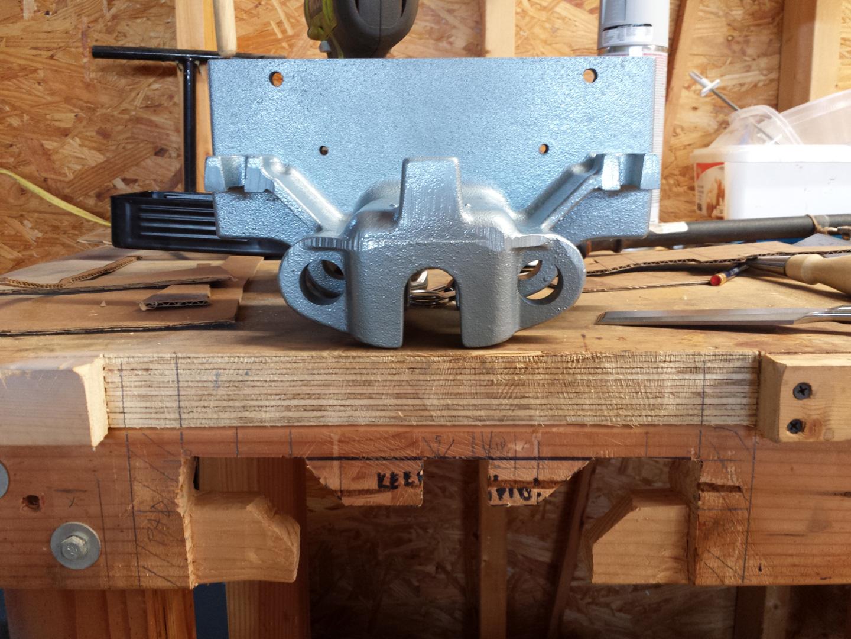 Craftsman 506 51890 Woodworker S Vise Restoration Michael