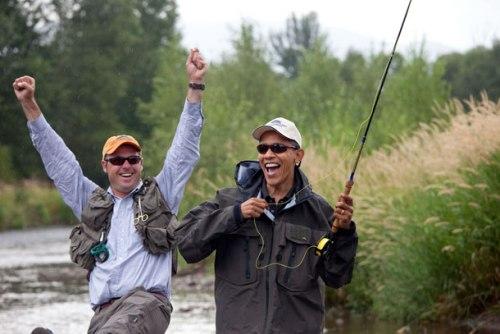 Obama in Montana
