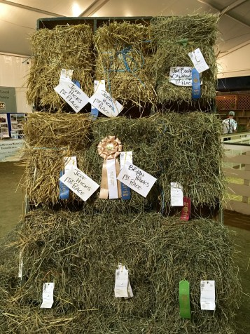 Award-winning hay.