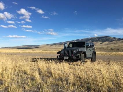 Somewhere in Wyoming near Yellowstone.