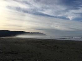 A beach on the west coast.