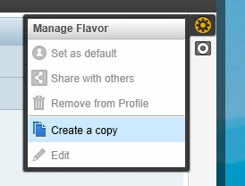 Always start by creating a copy of the standard screen.