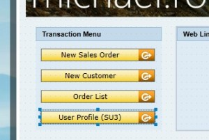 """Using the """"launch"""" function, custom transaction menus are built easily."""