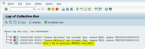 Transaction V.21 - Error Details