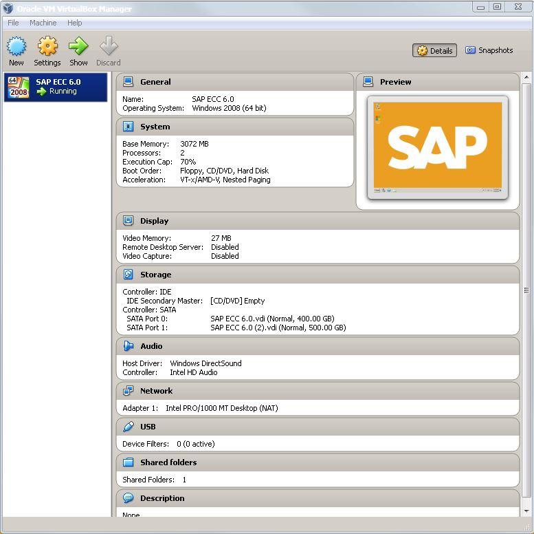 SAP: My Own SAP ECC 6 0 IDES Server (Part 1) - Michael