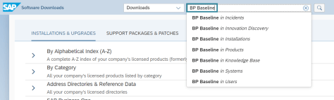 Search 'BP Baseline'