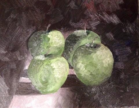 painting-apple