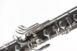 keys of an oboe