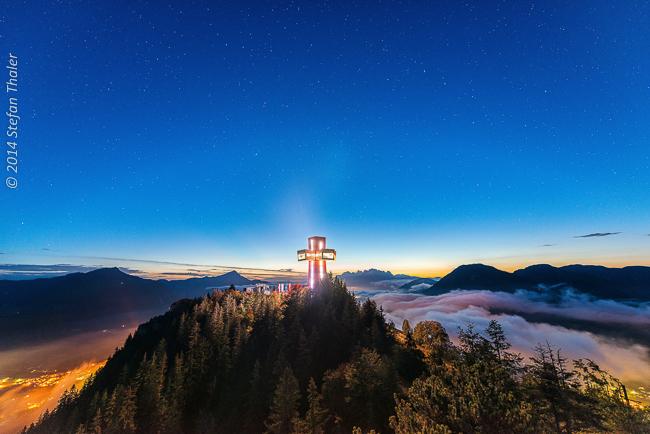 """Nachtrag: Artikel: Kraftplatz auf 1500 Metern. – """"inpuncto. horizonte""""/Beilage acht österr. KirchenZeitungen"""