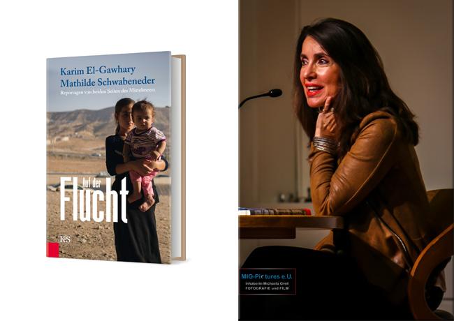 """6D/Fotos/Artikel/Radiobeitrag/-sendung zum Buch """"Auf der Flucht. Reportagen von beiden Seiten des Mittelmeers"""" – Karim El-Gawhary & Mathilde Schwabeneder"""