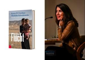 """""""Auf der Flucht. Reportagen von beiden Seiten des Mittelmeers"""" - Buchpräsentation mit Mathilde Schwabeneder; Cover & Foto Nr.30-2; Foto Schwabeneder: © 2015 Michaela Greil/MIG-Pictures e.U."""