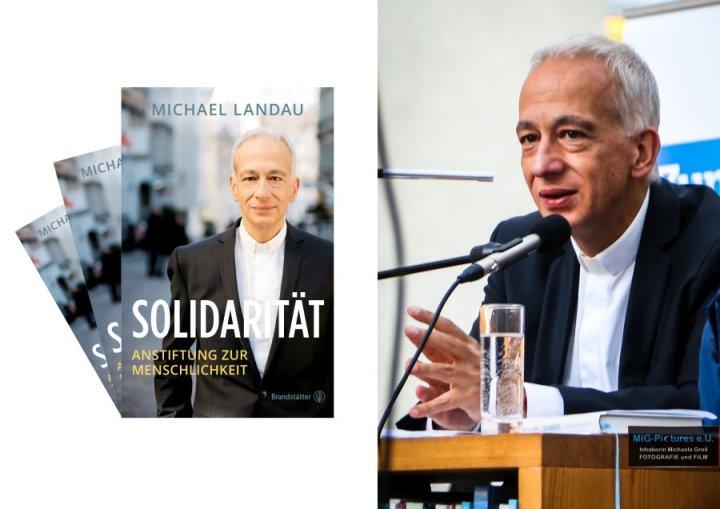 """6D – General Picture Release: Buchpräsentation Caritas Präsident Michael Landau bei StadtLesen Linz – """"Solidarität. Anstiftung zur Menschlichkeit"""", 29.9.2016 – Presse- & Veranstaltungsfotografie"""