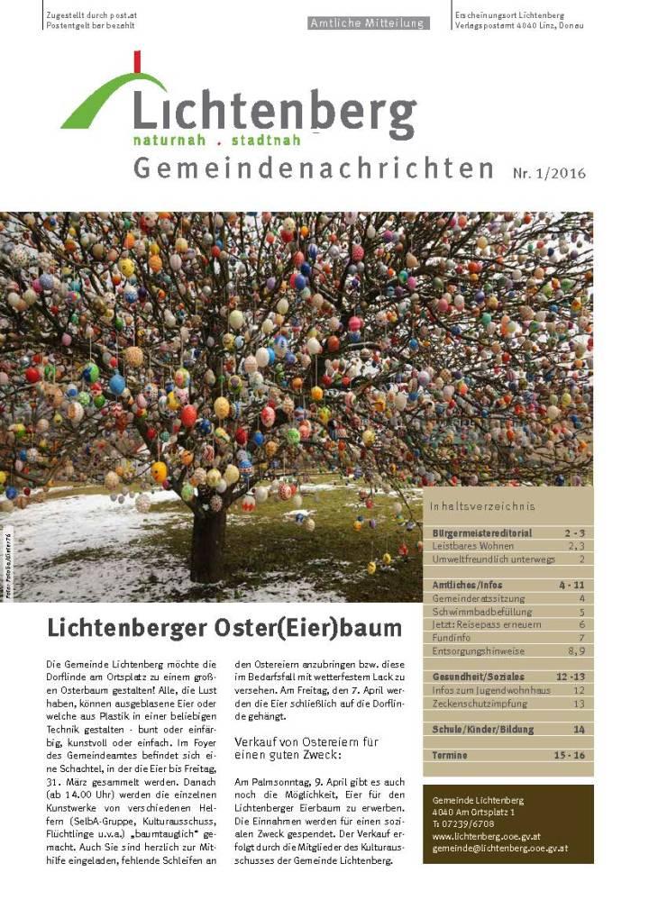 """Artikel/Foto: """"7 Fragen, 7 Antworten: Was man über Traumatisierung wissen sollte"""" – Gemeindenachrichten Lichtenberg 1/2017 – im Auftrag der """"Plattform Lichtenberg für Menschen"""""""