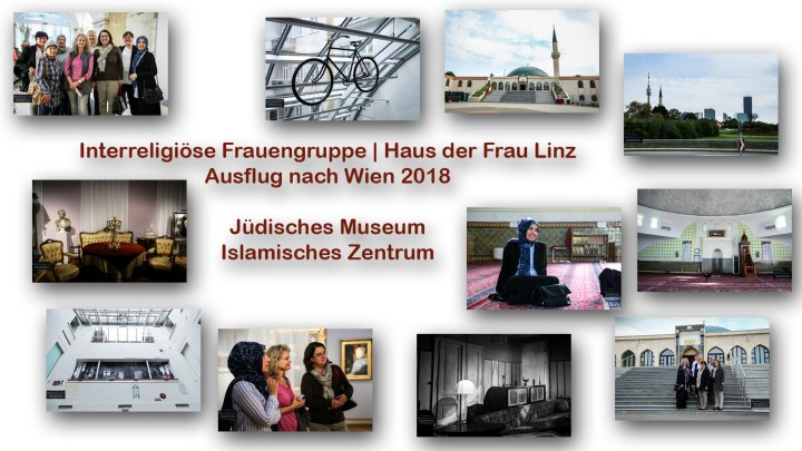 """6D/Fotostrecke: Interreligiöse Frauengruppe besucht Jüdisches Museum und Islamisches Zentrum in Wien: """"Interreligiöse Begegnung für Frauen"""", 7.10.2018 – Fotografie für Haus der Frau Linz"""