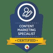Content Marketing Specialist Certified Michaela Hoffman