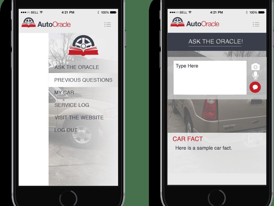 Auto Oracle: IOS, Android, & Web Design