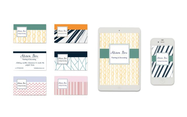Business Cards | Michaela Hoffman Designer