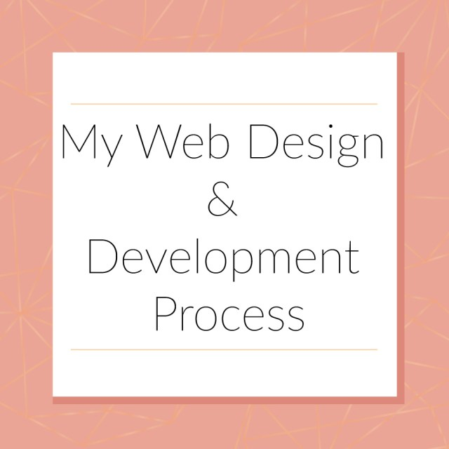 My Web Design & Development Process | michaelahoffman.com