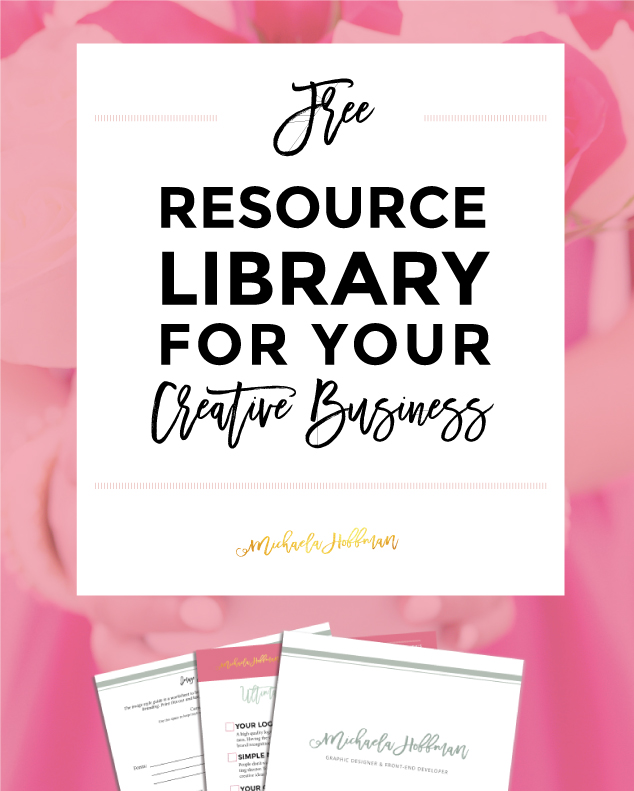 Free Resource Library for Your Creative Business