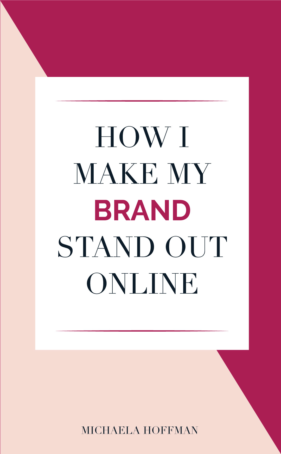 How to rise above the noise on online business owners and make your brand stand out getting visible to your ideal client and growing your online business.