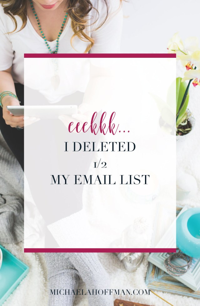 Does your email list growth feel stagnant? Does it feel like you get some you lose some but your email list numbers stay the same? Do you want to see more engagement with your email list? Try this...